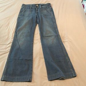 Denim - Found denim bell bottoms, 28